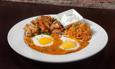 Brunch for Two or Four at Moe's Cantina (Up to 42% Off)