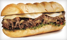 $6 for $12 Worth of Subs and Gourmet Fries at Charleys Grilled Subs