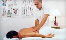 One or Three Massages with Adjustments and a Chiropractic Exam at Encompass Chiropractic Center (Up to 91% Off)