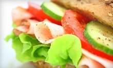$15 for Three Groupons, Each Good for $10 Worth of Sub Sandwiches at 537 Subs ($30 Total Value)