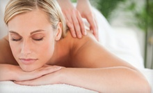 60-Minute Deep-Tissue Massage with Option for a 60-Minute Summertime Facial at World of Health (Up to 54% Off)