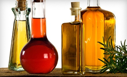 Oils and Vinegars or Tasting for Up to Eight at Amber&#x27;s Olive Company (Up to 63% Off). Three Options Available.
