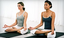 10 or 20 Yoga, Pilates, or Belly-Dance Classes at Calliope Fitness & Arts (Up to 82% Off)