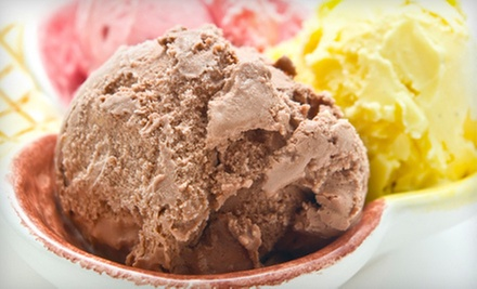 Two or Three $10 Vouchers for Frozen Treats, Candy, and Espresso Drinks at The Candy Box (Half Off)