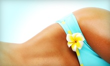 One or Three Custom Spray Tans or One or Three Months of Unlimited UV Tans at Tan & Glam (Up to 70% Off)
