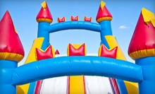 1-Day Rental of Small Bounce House or Castle with Double Slide from All In Fun (Up to 51% Off).
