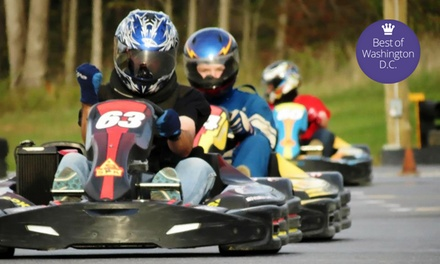 High-Performance Kart Racing at Summit Point Kart (Up to 53% Off). Three Options Available.