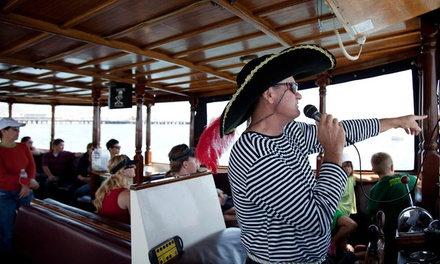 40-Minute Boat Ride for Two, Four, or Six from The Pirate Boat Ride (50% Off)