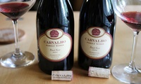 $26 for Admission for Two to the Wine and Art Faire at Carvalho Family Winery on October 5 ($50 Value)