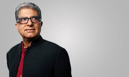 $20 for Six Months of Access to Deepak Chopra's Mind-Body Wellness Course from The Chopra Center ($59.99 Value)