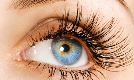 Full set of Synthetic Mink Eyelash Extensions with Optional Touchup at Ch'i Spa (Up to 60% Off)