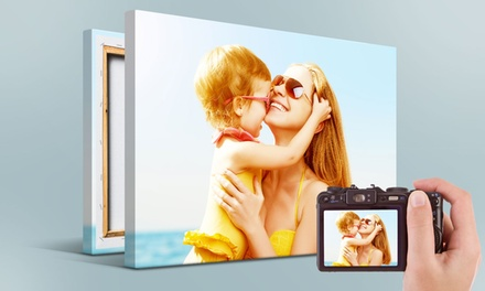 Custom Photo Canvases from Printerpix (Up to 86% Off). Three Options Available.