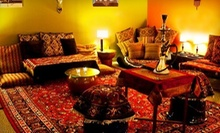 Persian Cuisine, Teas, and Hookah at Genie's Hookah Lounge (Up to 58% Off). Two Options Available.