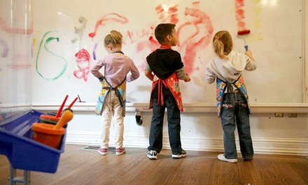 One- or Three-Month Family or Single-Child Membership to ArtBeast (Up to 52% Off)