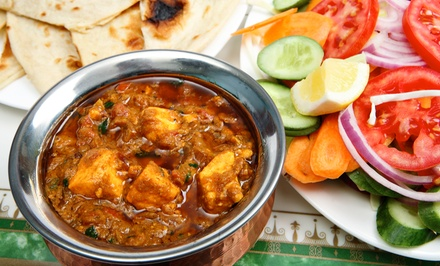 Indian Dinner for Two or Four at Bombay Grill (50% Off)