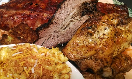Barbecue and American Food at Kensington Grill (Up to 50% Off). Two Options Available.