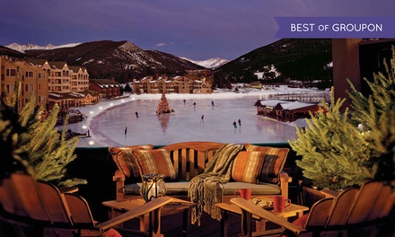 groupon daily deal - Stay at Lakeside Village Condominiums in Keystone, CO. Dates Available into December.