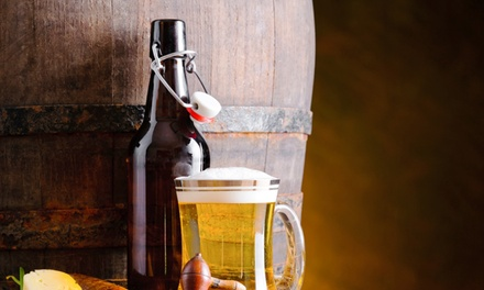 $22 for 64-Ounce Beer Growler with Choice of Craft Beer at Tap City Growlers ($31.98 Value)