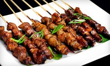 $22 for an Asian Fusion Meal for Two with Appetizers and Entrees at Honoo Grill &amp; Noodle (Up to $48 Value)