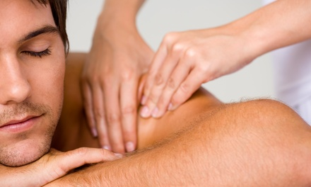 60-Minute Deep-Tissue Massage and a Decompression Exam from Soma Ray Wellness LLC (50% Off)