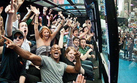 $49 for Interactive Limo Bus Tour from The Ride ($74 Value)