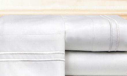 Hotel-Stripe Sheet Set