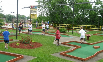 36 Holes of Mini-Golf for Two, Four, or Six at Putt-Putt Golf (Up to 56% Off)