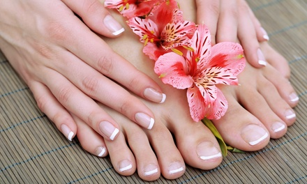 Regular Manicure and Pedicure or Spa Manicure and Pedicure at Roque Beauty Lounge (Up to Half Off)
