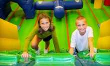 One or Four Indoor-Playground Visits at Jumpin' Beans in Wake Forest (Up to 53% Off)