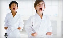 $49 for One Month of Superkids Children's Karate Classes at Lincoln Fit1 ($99 Value)