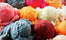 Five Large Gelatos or $5 for $10 Worth of Gelato and Caf Food at Staccato Gelato