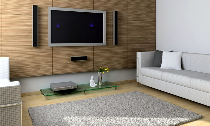 Flat Screen Tv Wall Mounting Hd Hookups Groupon