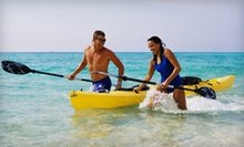 $20 for a Four-Hour Kayak Rental for Two from On the Beach Watersports in Pompano Beach ($60 Value)