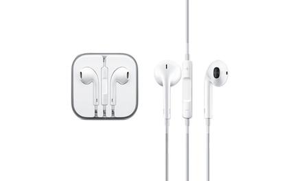 Earpods Apple oficiais para iPhone/iPad por 12,99 € ou duas unidades por 23,99 €