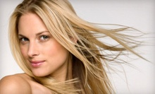 Haircut and Conditioning with Optional Color or Partial or Full Highlights at Meno Michael Salon & Spa (Up to 76% Off)