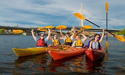 $129 for First-Time Canoe, Kayak, and SUP Pass from Charles River Canoe & Kayak ($279 Value)