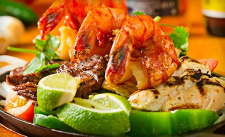 Mexican Dinner for Two or Four or $20 for $40 Worth of Mexican Cuisine at El Nuevo Rodeo Restaurant
