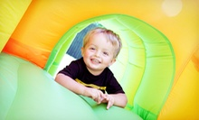 5 or 10 Kids' Open-Play Sessions at The Jump Around (Up to 57% Off)