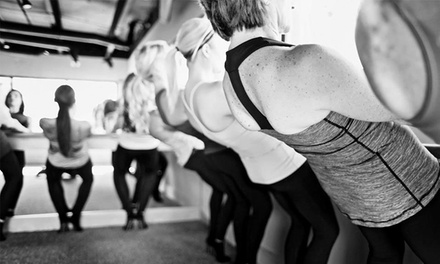 5 or 10 Classes at Pure Barre (Up to 66% Off)