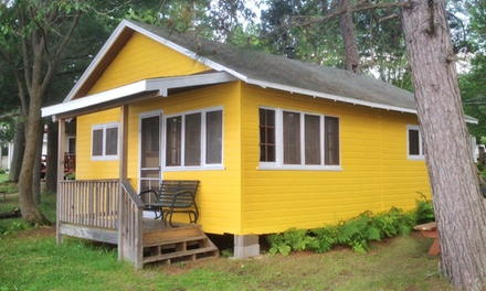 Groupon Deal: 2-Night Stay in Any Cabin or Mobile Home at Rainbow's End Resort in Chetek, WI. Combine up to 4 Nights.