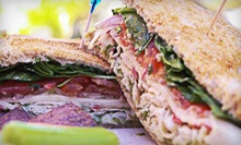 Organic Sandwiches at Grilla Bites (Half Off). Two Options Available.