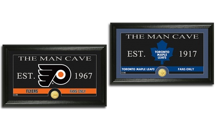 The Man Cave NHL Panoramic Photo Mint