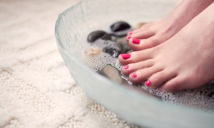 Basic Manicure, Pedicure, or Both or Girls' Night Package for Up to Six at Candi Nail Salon (Up to 53% Off)