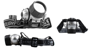 7-led Adjustable Headlamps (3-pack)