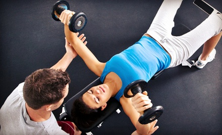 One or Two Personal-Training Sessions, or a One-Month Fitness Package at Personal 1 Fitness (Up to 65% Off)