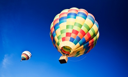 One or Two Groupons, Each Good for a Sunrise Hot Air Balloon Ride with Champagne Toast (50% Off)