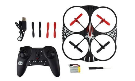 Attop YD-716 4-Channel Remote Control Quadcopter with LED Lights; 1 for $49.99 or 2 for $84.99