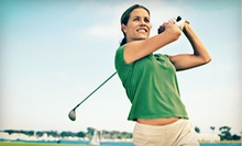 30-Day, 60-Day, or One-Year Women's Golf Membership Package with Lessons from Sassy Golf (Up to 85% Off)