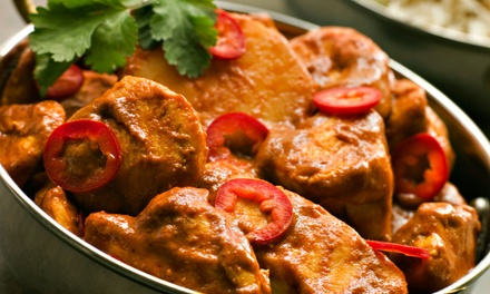 Indian Meal for Two or Four at Bukhara Indian Bistro (Up to 46% Off)