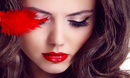 $79 for Beauty Shoot with Smokey-Eye Makeup, Digital Images & Prints at Legacy Studios ($399 Value)